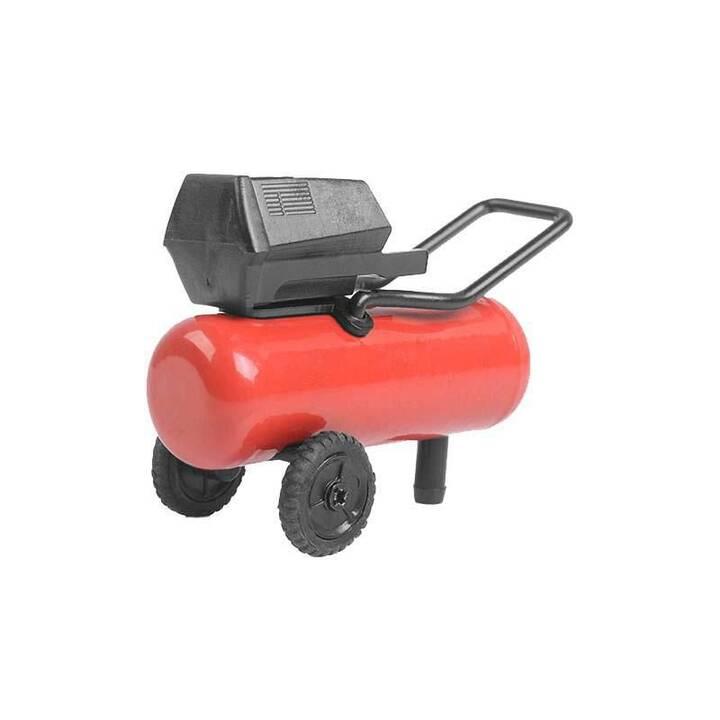 RC4WD Garage Series Scale Kompressor (Schwarz, Rot)