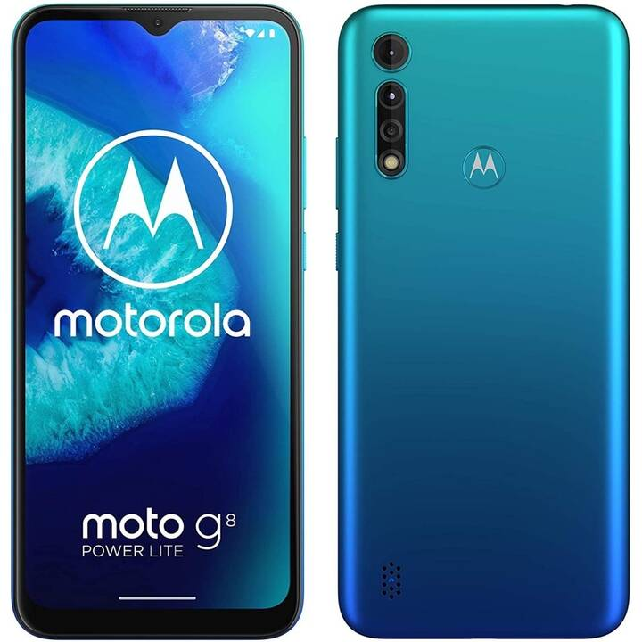 "MOTOROLA G8 Power Lite (6.5"", 64 GB, 16 MP, Turchese)"