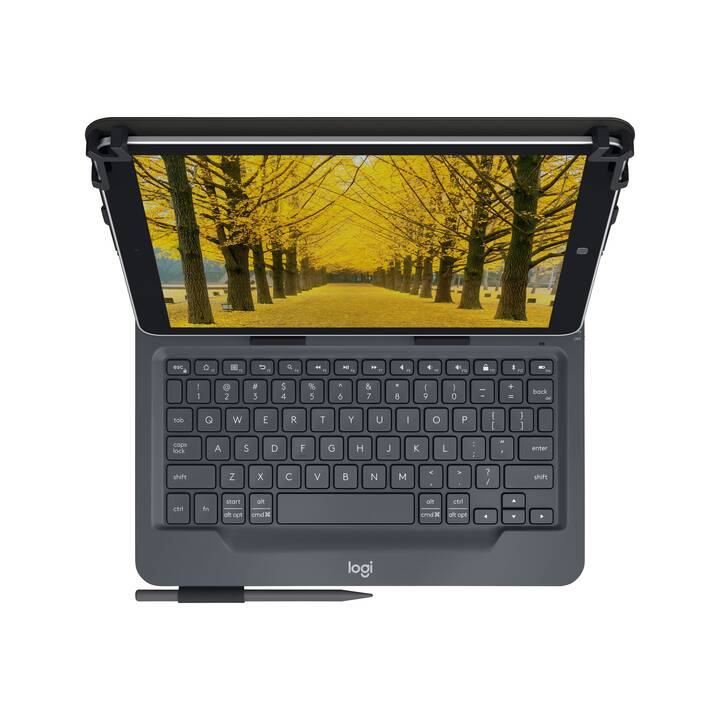 "LOGITECH Universal Type Cover / Tablet Tastatur (10"", Schwarz)"