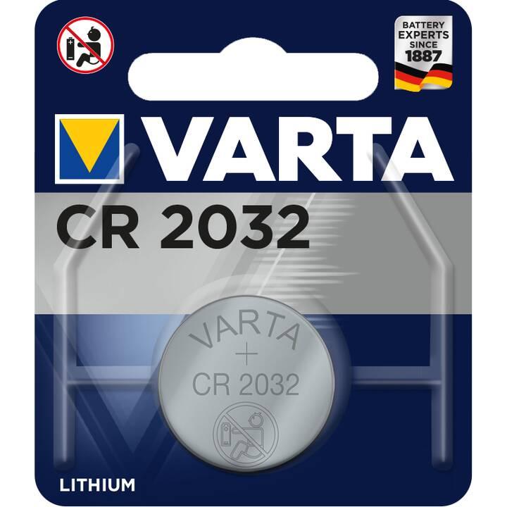 VARTA Batterie (CR2032, 1 pièce)