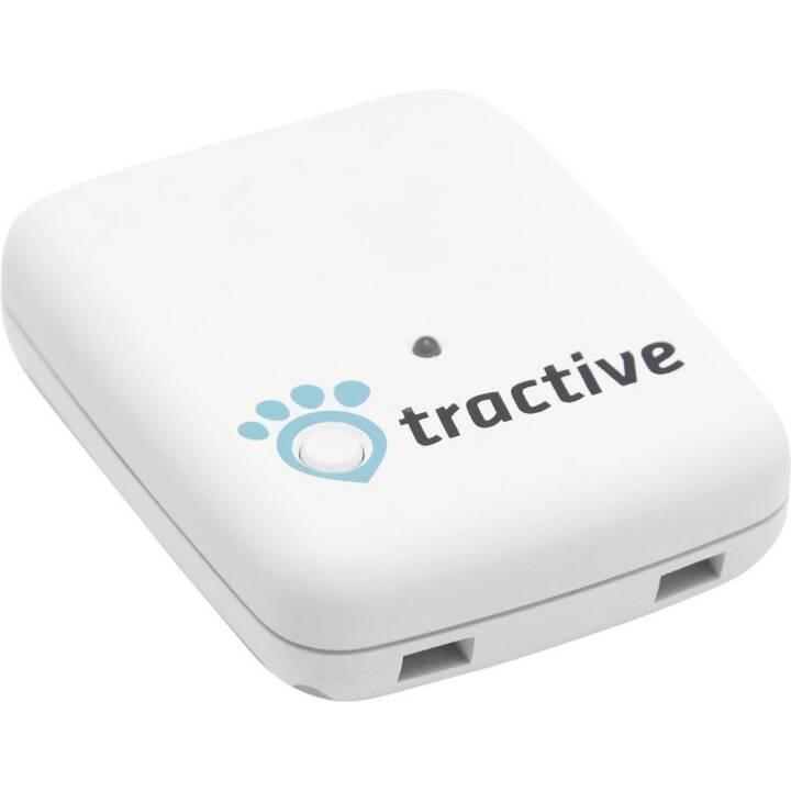 TRACTIVE GPS Pet Tracker Tracker Blanc