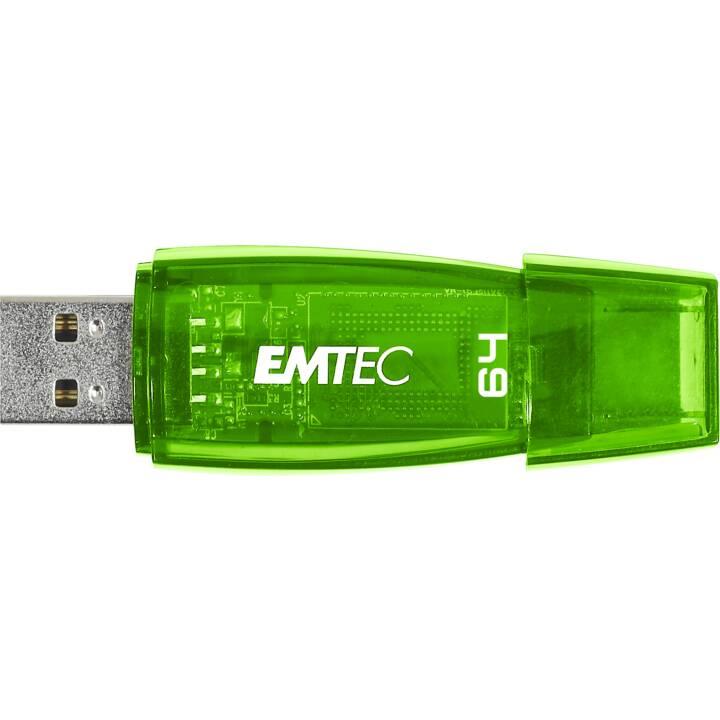 EMTEC INTERNATIONAL C410 (64.0 GB, USB 2.0 Typ-A)