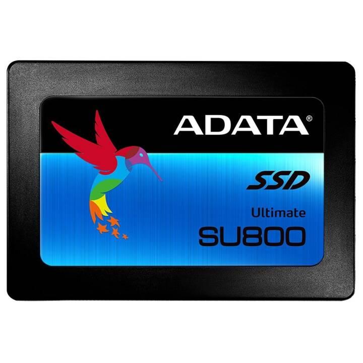 ADATA Ultimate SU800 (SATA-III, 256 GB, Schwarz)
