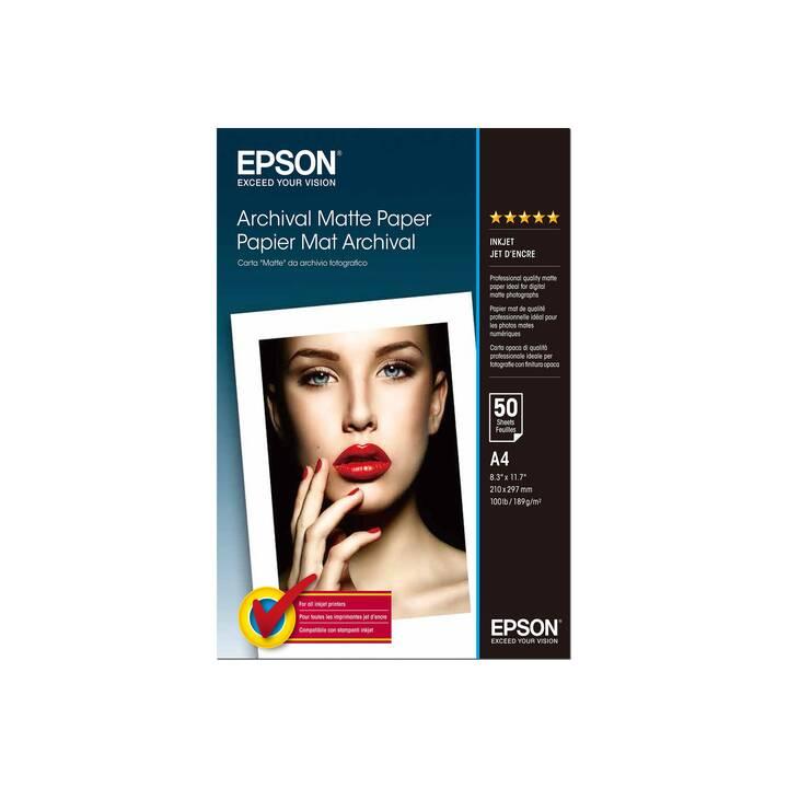 EPSON Carta fotografica (A4, 50 foglio)