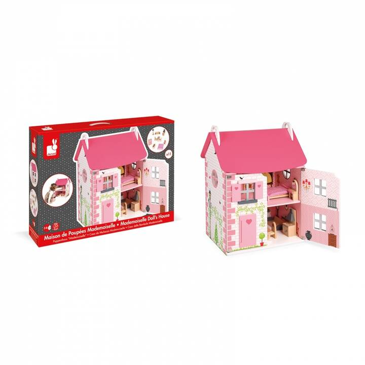 JANOD Mademoiselle J06581 Casa delle bambole (Pink)