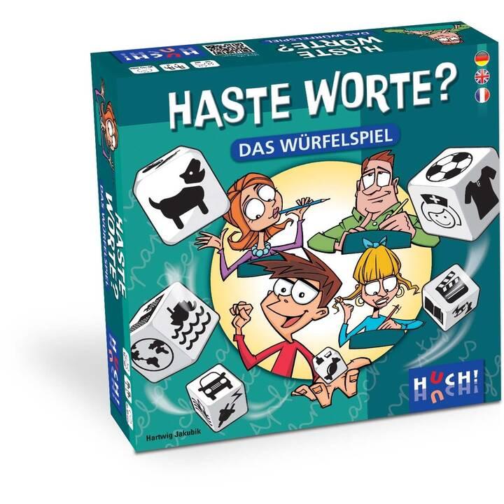HUCH! Haste Worte? (DE, FR, EN)
