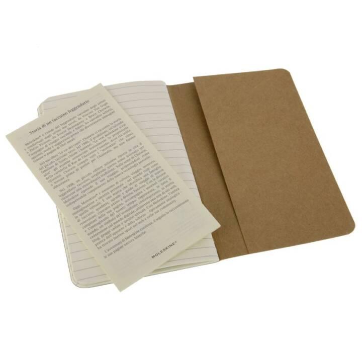 MOLESKINE QP411 Braun 64Blätter Notizbuch