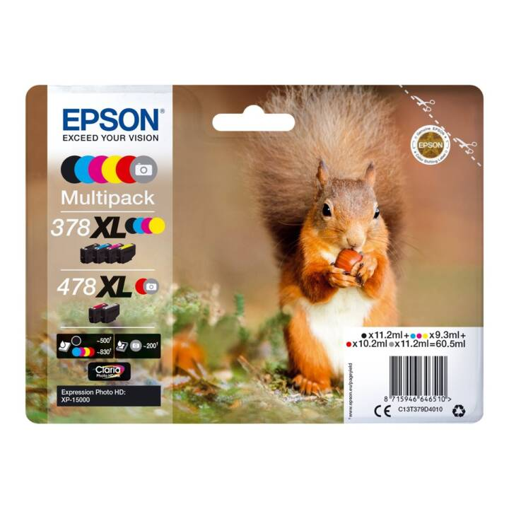 EPSON 478XL Multipack