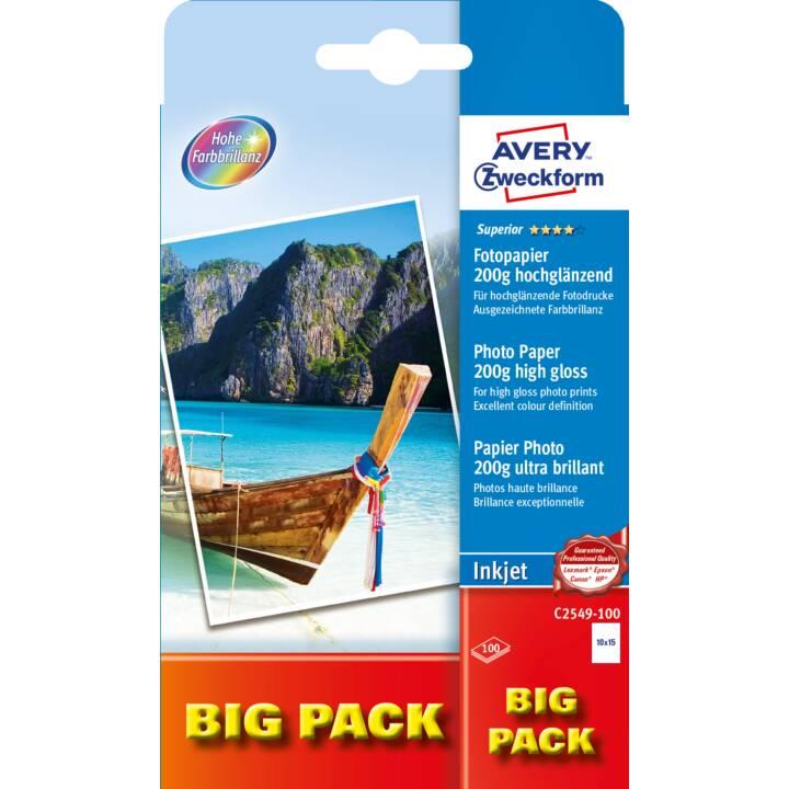 FORMULAIRE A USAGE MOYEN Papier photo C2549 A6 200 g/m² 100 feuilles