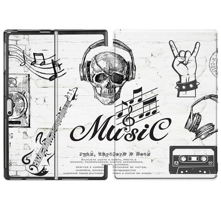 """EG MTT Étui pour Microsoft Surface Pro 4/5/6 12.3"""" (2018) - Musique"""