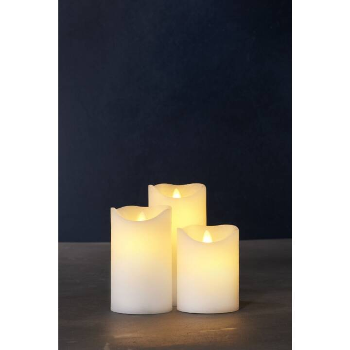 SIRIUS Sara LED-Kerzen (3 Stück)