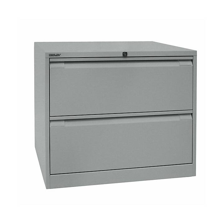 BISLEY Schubladenschrank (Aluminium)