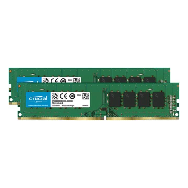 MICRON TECHNOLOGY CT2K16G4DFD8266 (2 x 16 Go, DDR4-SDRAM, DIMM 288-Pin)