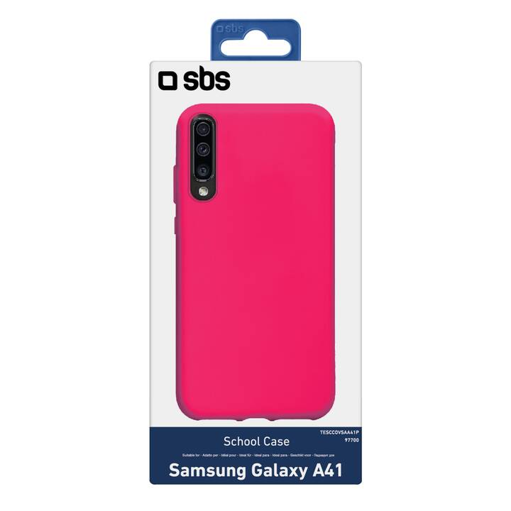 SBS Backcover School Case (Galaxy A41, Pink)
