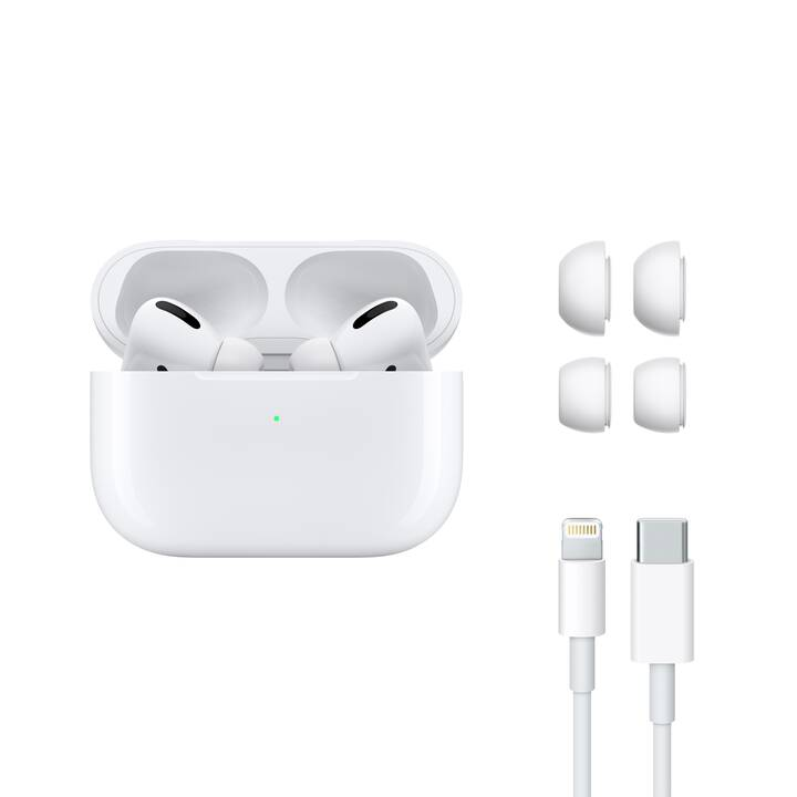 APPLE AirPods Pro (In-Ear, Bianco)