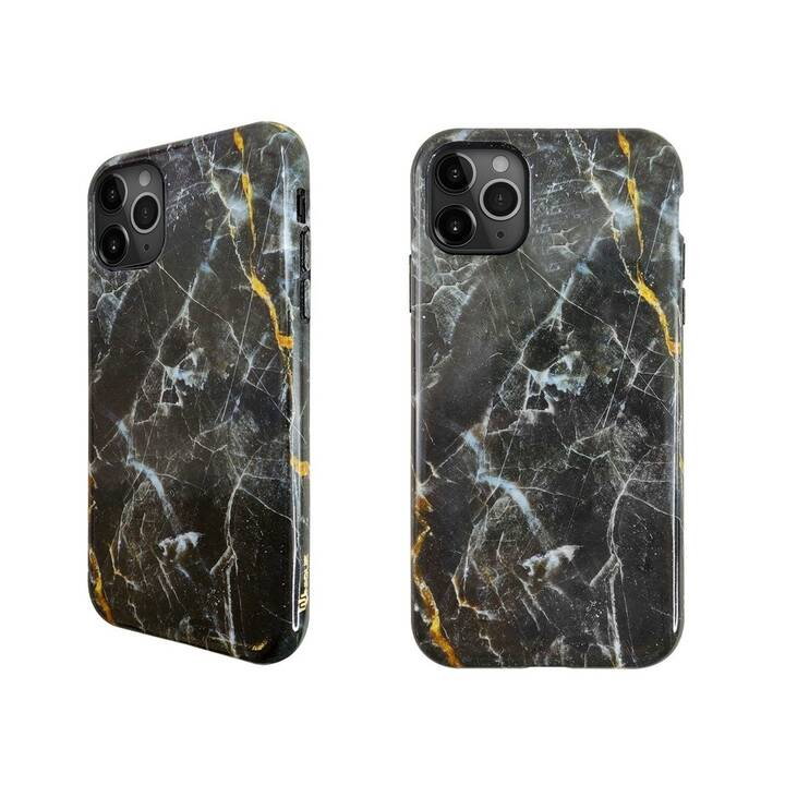 UUNIQUE Backcover Eco Friendly Printed Black Marble (iPhone 11 Pro Max, Multicolore)