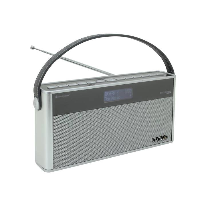 SOUNDMASTER DAB750SI EliteLine Radio digitale (Argento, Nero)