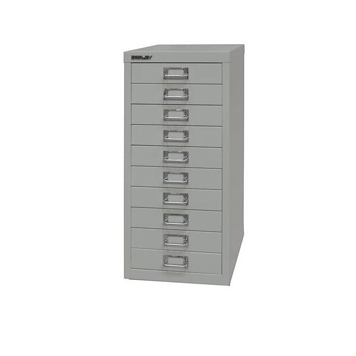 BISLEY MultiDrawer Schubladenbox (A4, Grau)