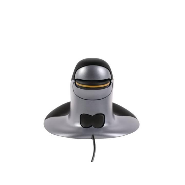 Sfiorisce il pinguino del mouse ergonomico S