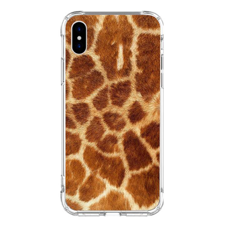 "EG MTT custodia per iPhone XS Max 6.5"" 2018 - pelle di animale"