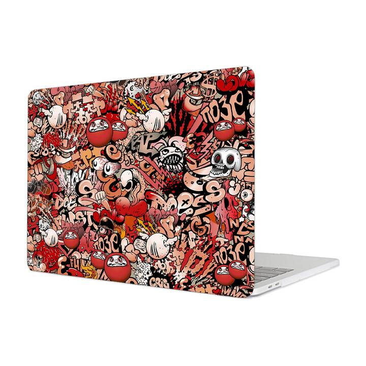 "EG Hülle für Macbook Pro 16"" Touchbar (2019) - Graffiti"