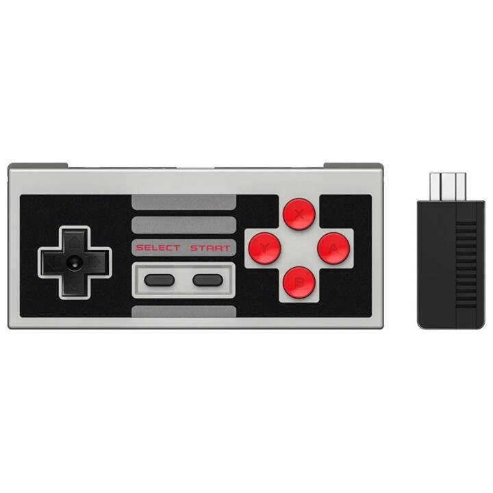 8BITDO NES30 Gamepad (Schwarz)