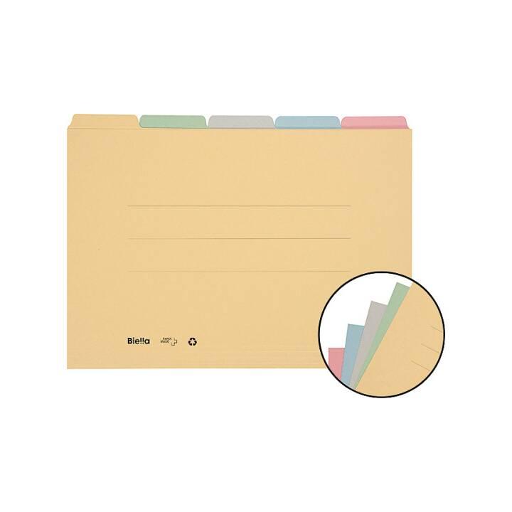 BIELLA Cartella di registro, A4, multicolore