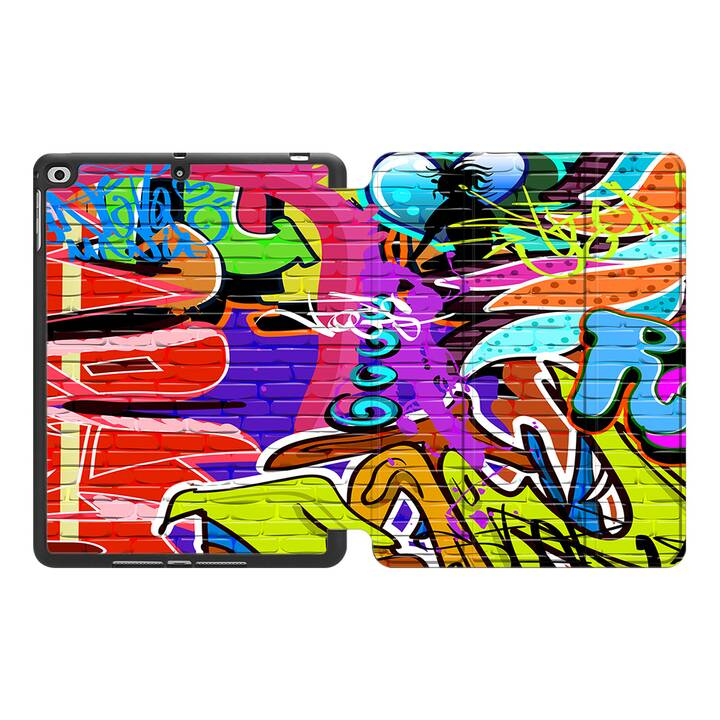 "EG MTT Coque pour Apple iPad Air 3 2019 10.5"" - Graffiti"