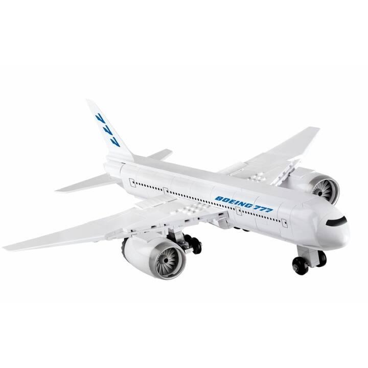 Bausteine Konstruktion Spielzeug Flugzeug Boeing 777