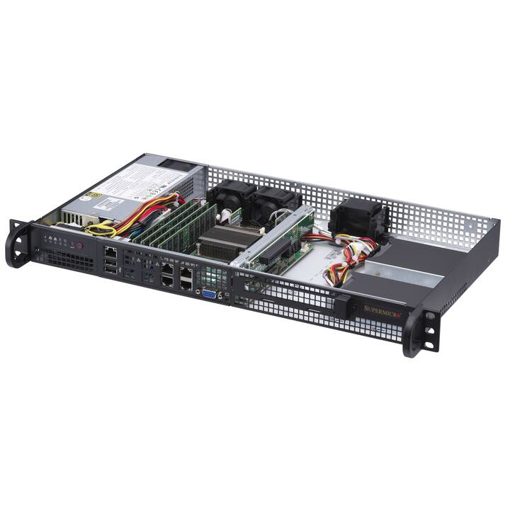 SUPERMICRO SuperServer 5019A-FTN4 (Intel Atom)