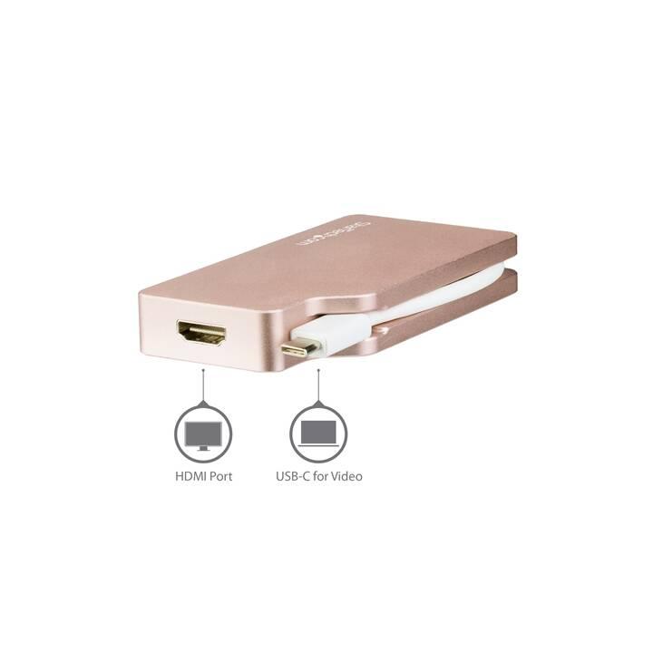 STARTECH.COM Adattatore (VGA, DVI, HDMI, Presa Mini DisplayPort, USB Typ-C)