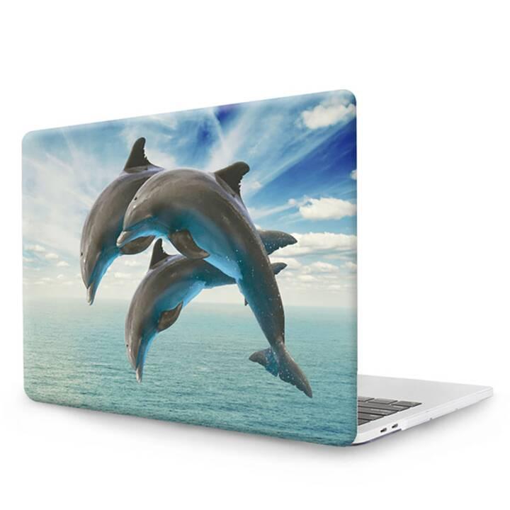 "EG MTT Cover pour MacBook Pro 13"" CD ROM - Dolphins"