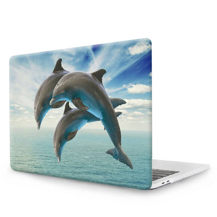 """EG MTT Cover pour MacBook Pro 13"""" Touch Bar - Dolphins"""