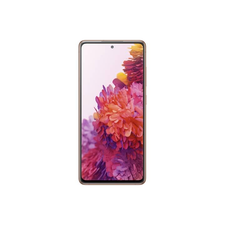 """SAMSUNG Galaxy S20 FE (6.5"""", 128 GB, 12 MP, Arancione)"""