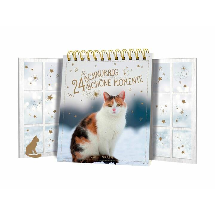 COPPENRATH Tabella Calendario dell'avvento Cats (14.5 cm x 12.5 cm)