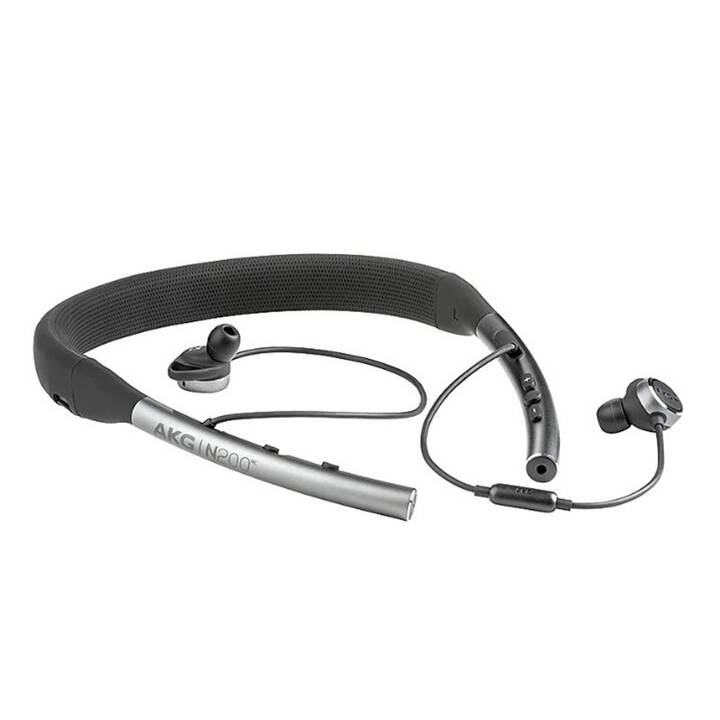 AKG N200NC (In-Ear, Bluetooth 4.2, Noir)