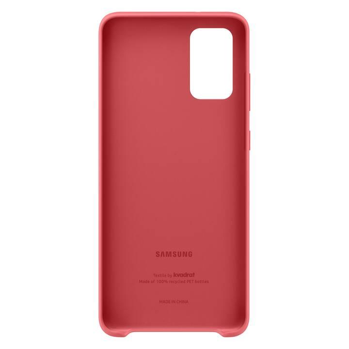 SAMSUNG Backcover Kvadrat (Galaxy S20+, Rosso)