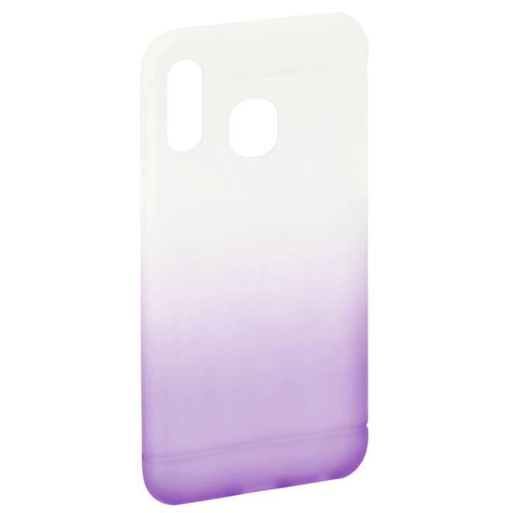 HAMA Backcover Colorful (Galaxy A20e, Porpora, Transparente)