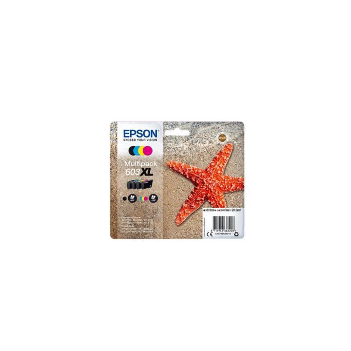 EPSON 603 XL (Nero, Ciano, Giallo, Magenta, 4 pezzo)