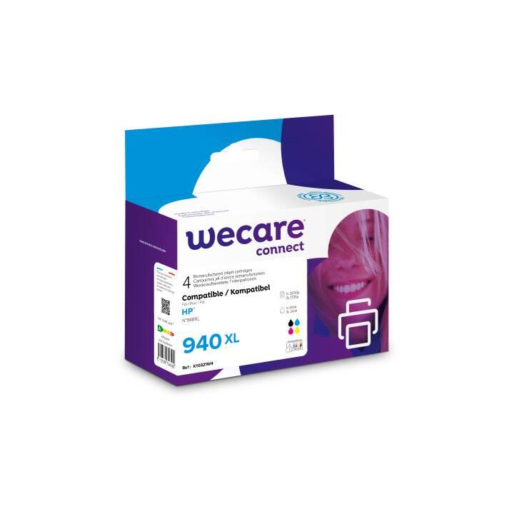 WECARE C2N93AEWE (Cyan, Magenta, Schwarz, Gelb, 4 Stück)