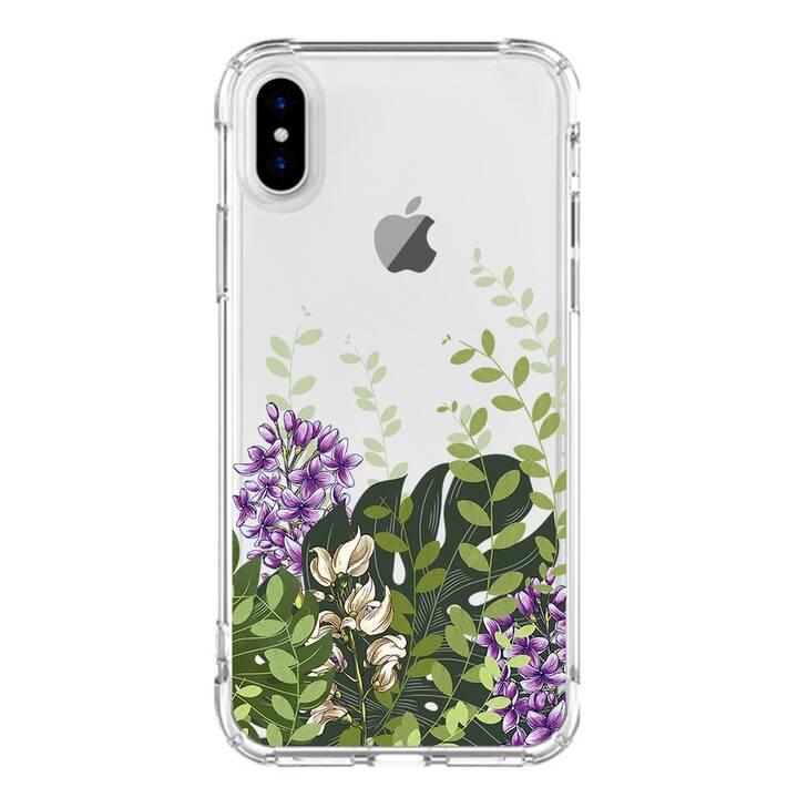 "EG MTT custodia per iPhone X 5.8"" 2018 - fiore"