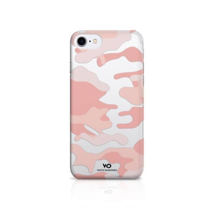 WHITE DIAMONDS Cover Camouflage für Apple iPhone 6/6s/7/8, Roségold