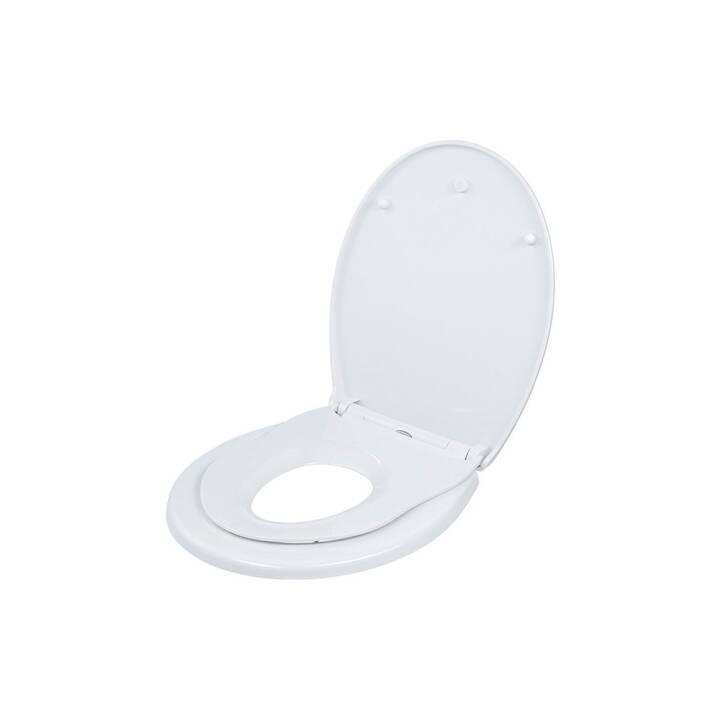 DIAQUA Sedile per WC Tino Slow Down (Bianco)