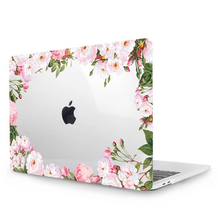 """EG MTT Cover pour MacBook Pro 13"""" Touch Bar - Fleurs roses"""
