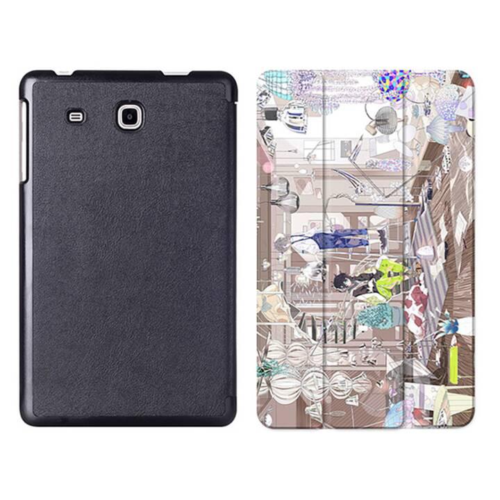 """EG MTT Tablet Tasche mit Smart faltbare Abdeckung für Samsung Galaxy Tab A A6 7 """"- Comics"""