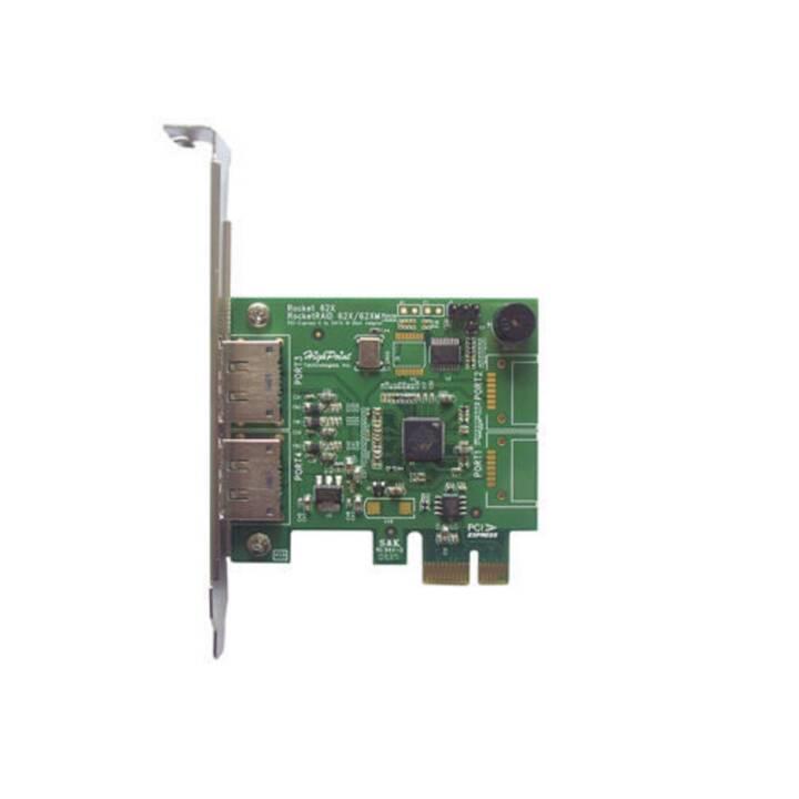 Highpoint RocketRAID622: 2 Port eSATA3 6