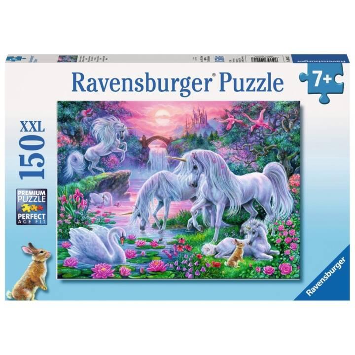 RAVENSBURGER Einhörner im Abendrot XXL, 150 Teile