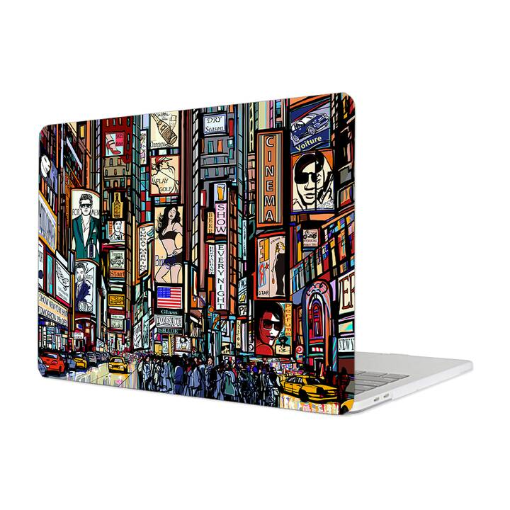 "EG MTT Hülle für Macbook Air 13"" (2018) - Graffiti"