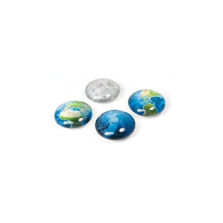 TRENDFORM Magnete Planet 4er-Set assortiert
