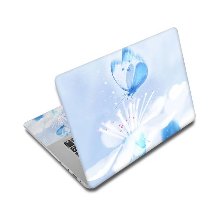 "EG adesivo per laptop 14"" - farfalla"